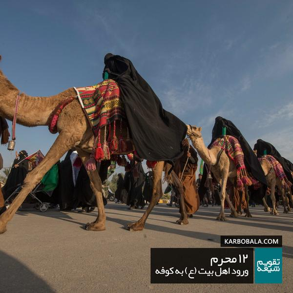 12 محرم | ورود اهل بیت (ع) به کوفه