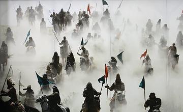 تاکتیک جنگی ایرانی امام حسین (ع)