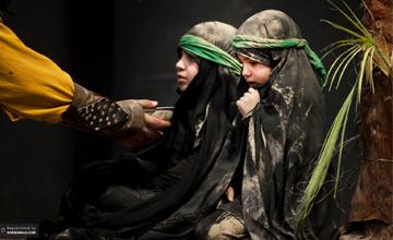 روز هشتم - نایاب شدن آب در خیمه های حسینی