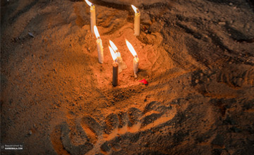 گریه های امام حسین علیه السلام در کربلا