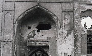 تخریبها و مرمتهای حرم مطهر سیدالشهدا پس از صفویه