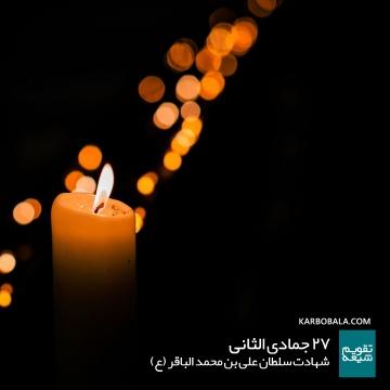 27 جمادی الثانی / شهادت سلطان علی بن محمد الباقر (ع)