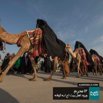 12 محرم | ورود اهل بیت علیهالسلام به کوفه