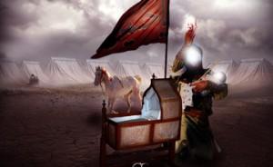 برسی مواردی که در مورد شهادت حضرت علی اصغر (ع) در فیلم نقل شده است