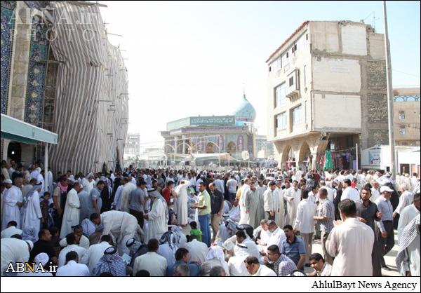 زائرین حرم امام حسین علیهالسلام در روز عرفه/ گزارش تصویری