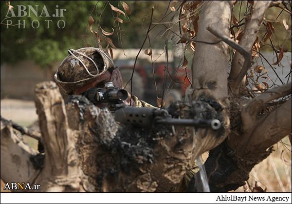 خادمان حسینی در میدان نبرد با داعش/ گالری تصاویر