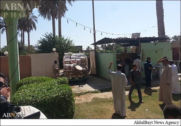 بازدید هیئتی از حرمین حسینی و عباس از ضلوعیه/ گالری تصاویر