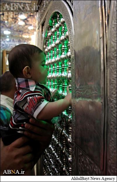 زیارت کودکان از حرم امام حسین (ع)/ گالری تصاویر