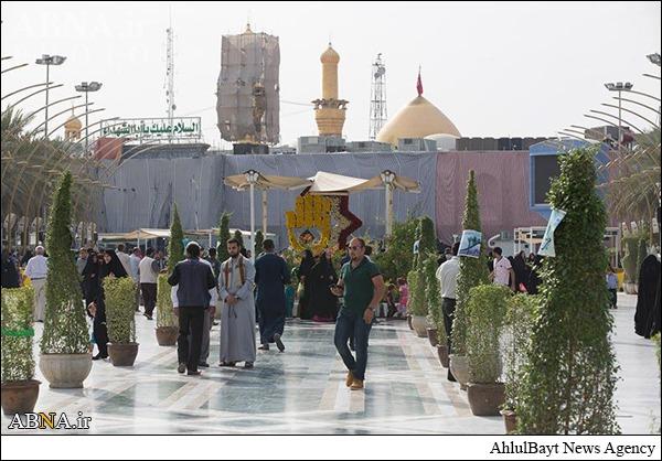 عید غدیر خم در حرم حضرت عباس (ع)/ گالری تصاویر