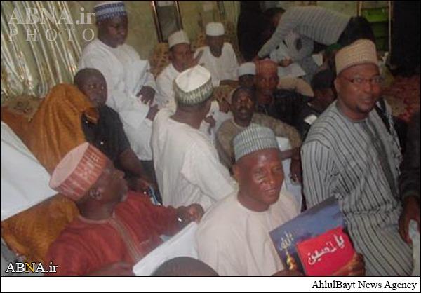 تشرف شیعه شدگان نیجریه به حرم امام حسین (ع)/ تصاویر