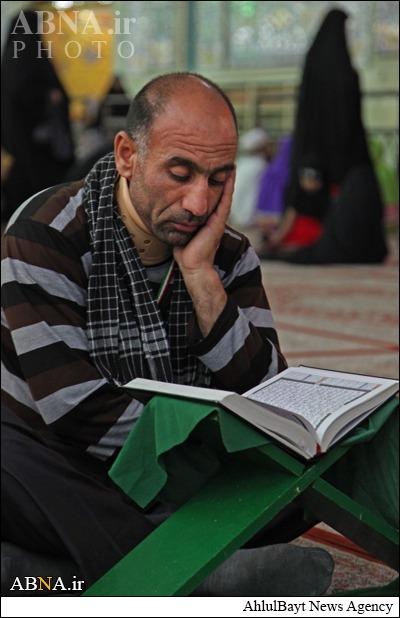 محفل قرآنی در حرم امام حسین (ع)/ گالری تصاویر