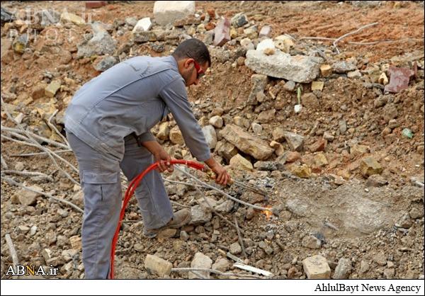آغاز مراحل اولیه ساخت صحن حضرت زینب  (س)/ تصاویر