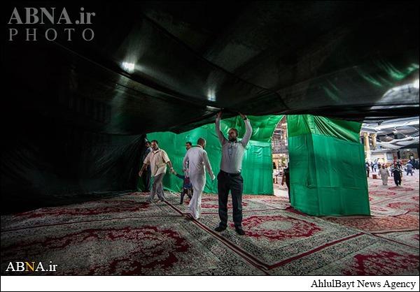 آمادگی حرم حضرت عباس برای استقبال از محرم/ گالری تصاویر