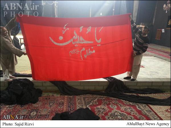 شیعیان کشمیر در تدارک ماه محرم/ تصاویر