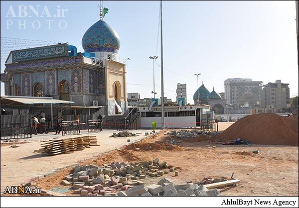 فراهم شدن مکانی مناسب برای زائران حرم امام حسین(ع)