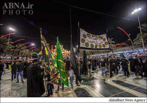 عزاداری عزاداران حسینی در بینالحرمین