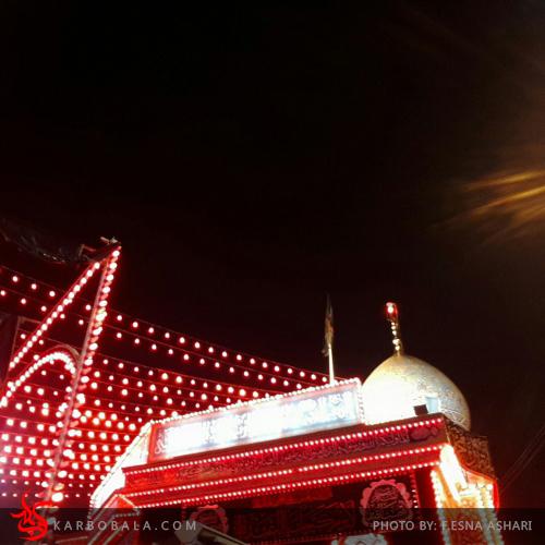تصاویر کربلا در شب و روز عاشورا/ ارسالی از خادمین افتخاری