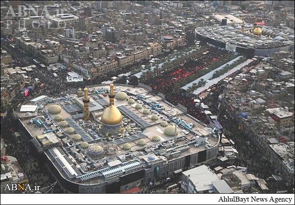 تصاویر هوایی از کربلای معلی