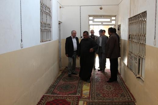 بازدید رئیس سازمان حج از روند آماده سازی مواکب در مسیر نجف تا کربلا/ عکس