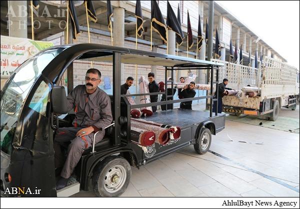 حرم امام علی (ع) آماده استقبال از زائران اربعین