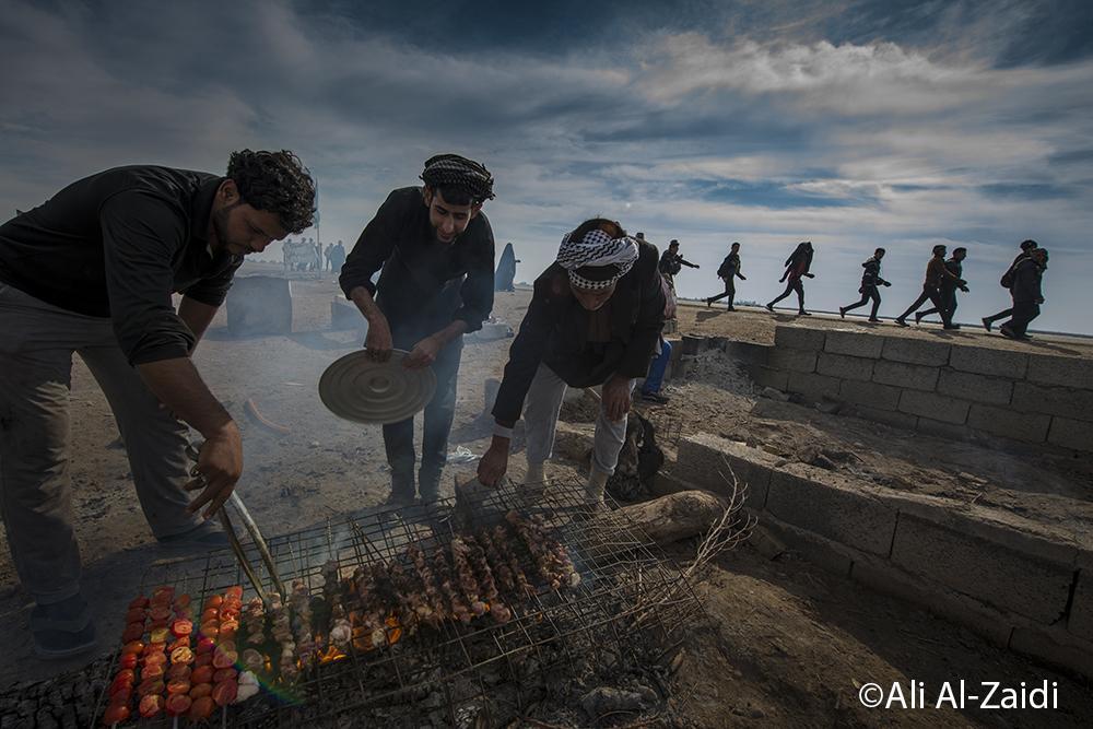 گفتگو با عکاسان مسیر پیاده روی اربعین/ عکس