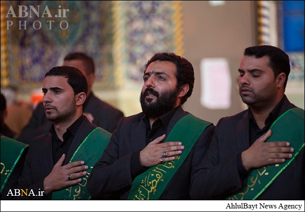 عزاداری شهادت امام رضا(ع) در کربلای معلی
