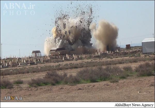 انفجار مزار یک عالم دینی در کرکوک