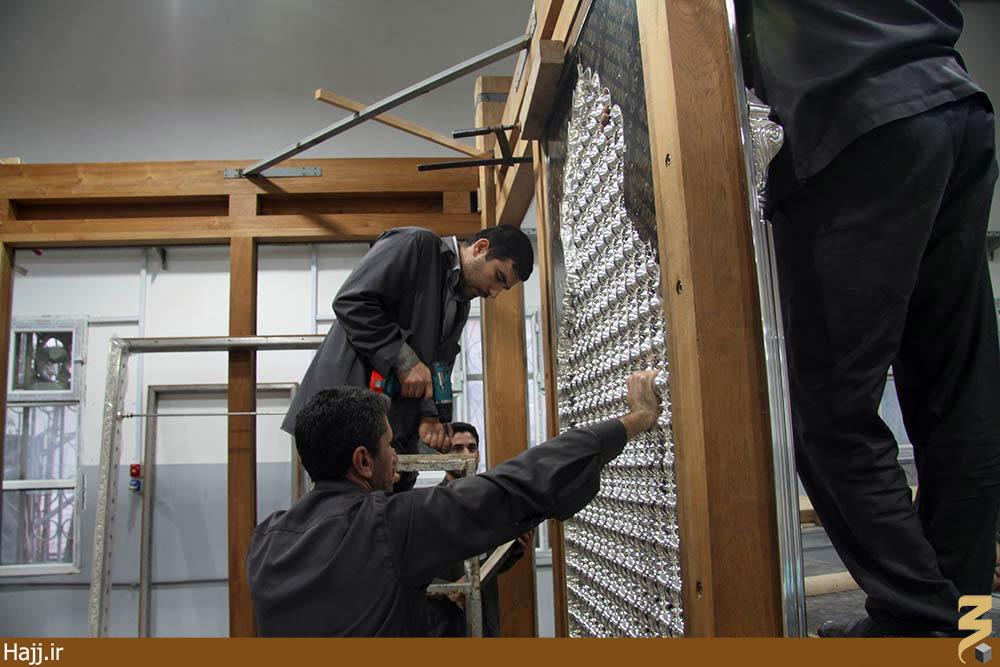 تکنولوژی جدید در ساخت ضریح جدید عباسی