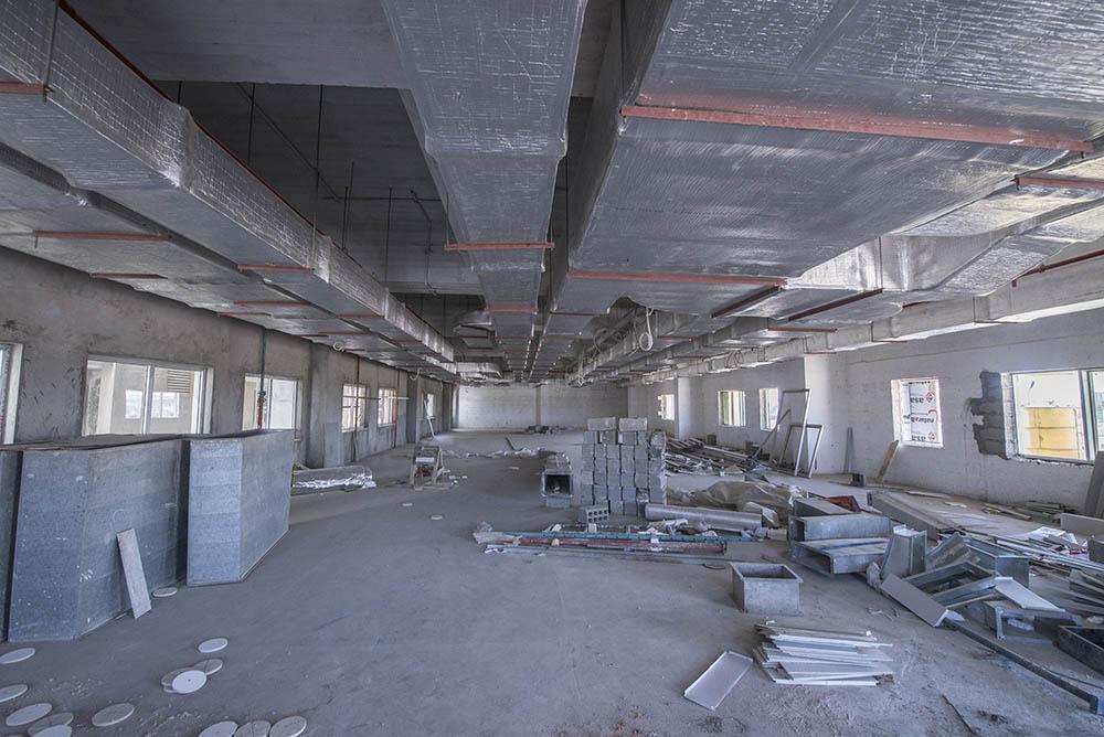 عملیات ساختمای بیمارستان تخصصی الکفیل در آستانه اتمام