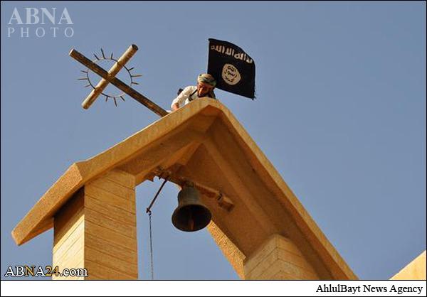 حمله به کلیسای هزار ساله موصل+ تصاویر