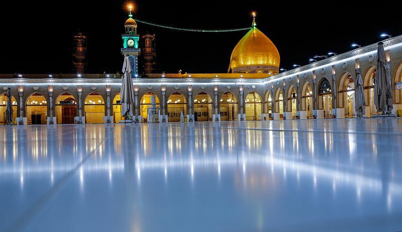 عکس هایی از مسجد کوفه