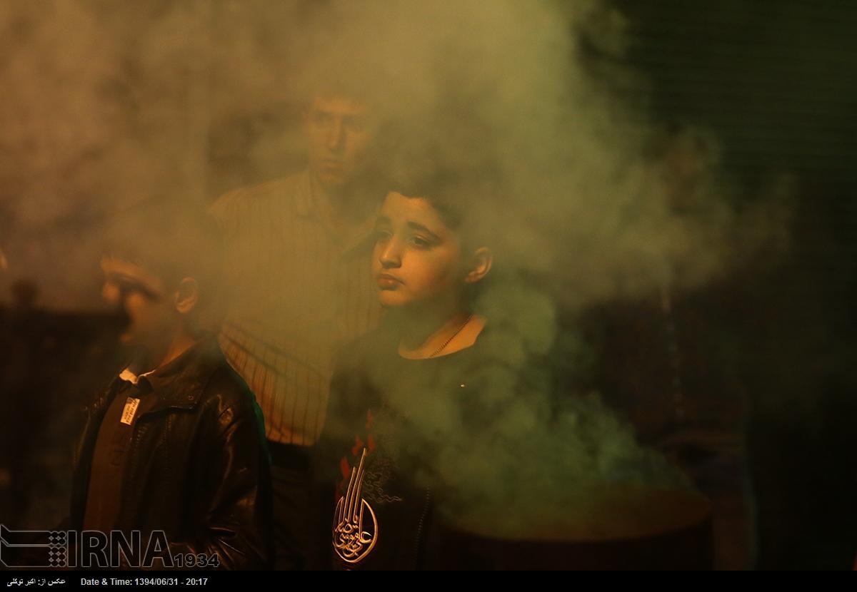 گزارش تصویری عزاداری ایام مسلمیه