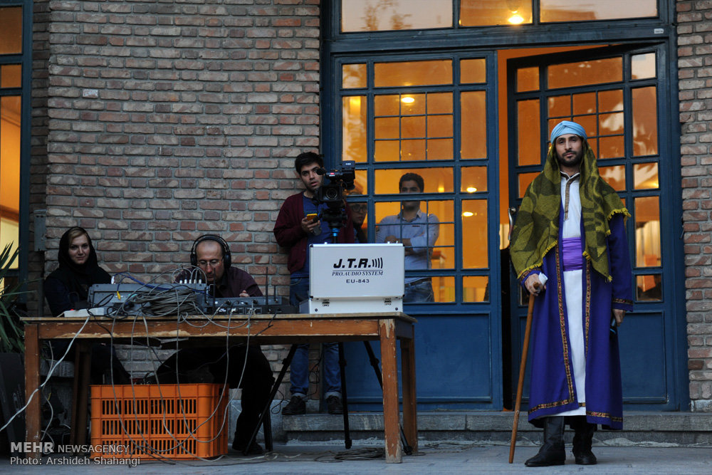 اجرای تعزیه محرم در خانه هنرمندان/ گالری تصاویر