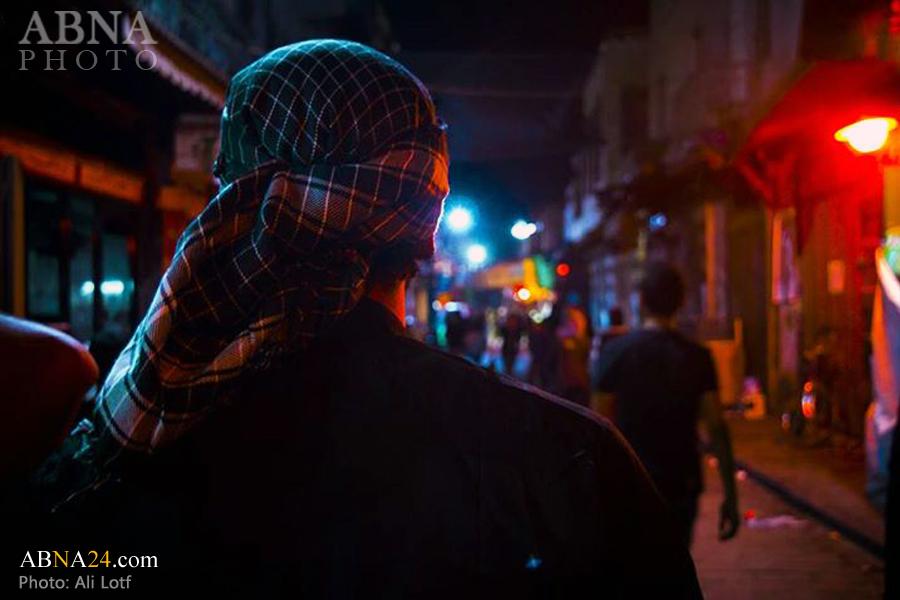 محرم در منطقه «حی الامین» دمشق/ گالری تصاویر