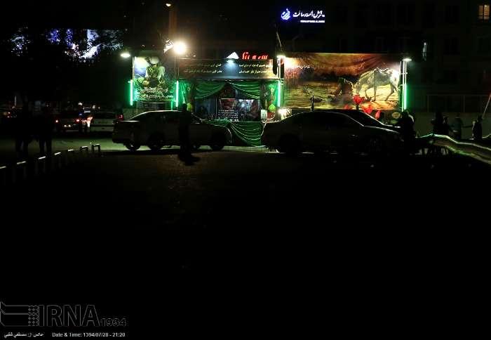 شب های محرم  / گزارش تصویری