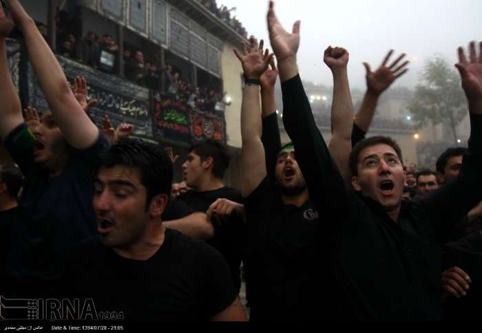 مراسم علم بندی در ماسوله / گزارش تصویری
