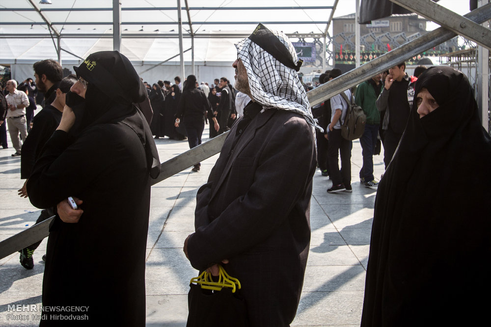 تجمع نوجوانان عاشورایی / گزارش تصویری