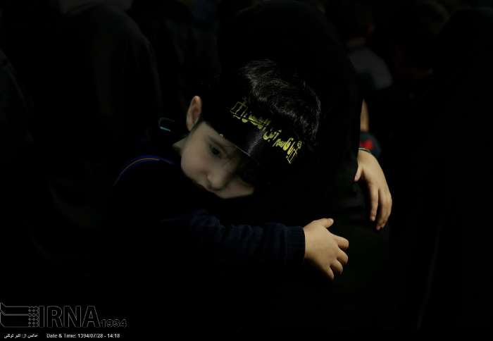 سوگواری دانش آموزی «احلی من العسل» / گزارش تصویری