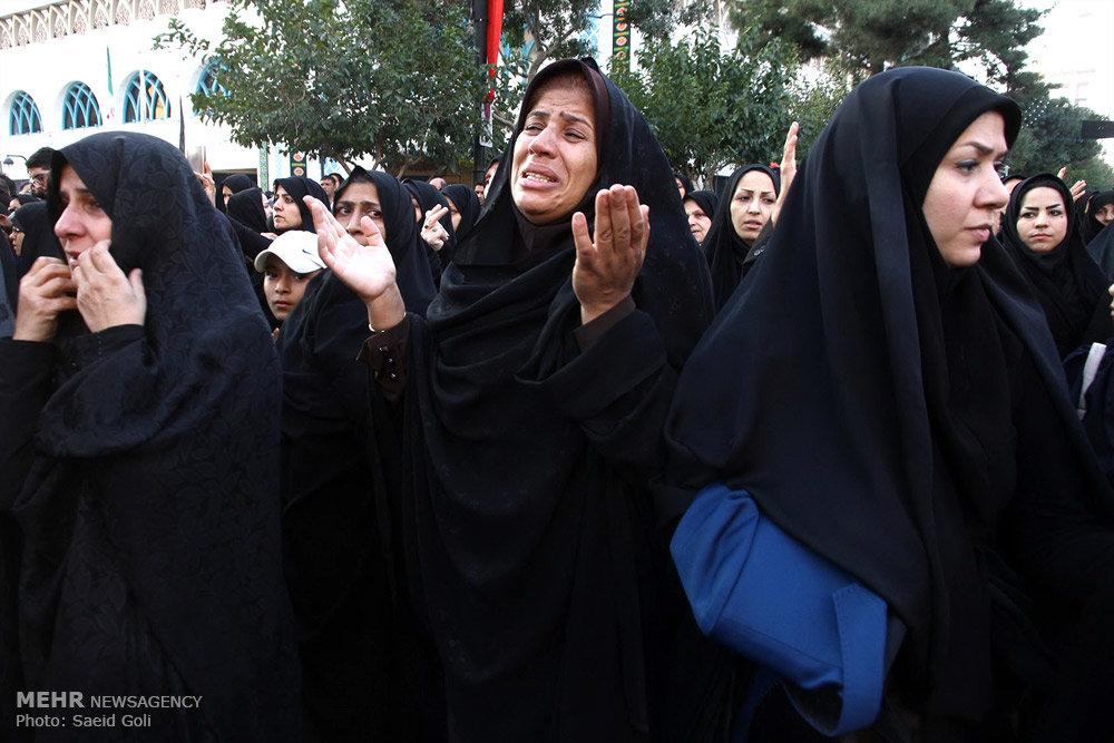 مراسم عزاداری ناشنوایان/ گزارش تصویری