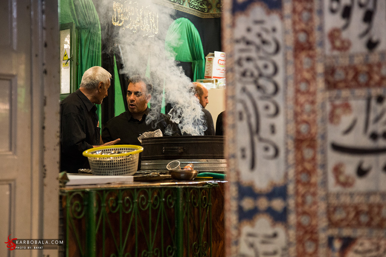گزارش تصویری از حسینیه سادات اخوی در محرم با قدمتی بیش از 150 سال
