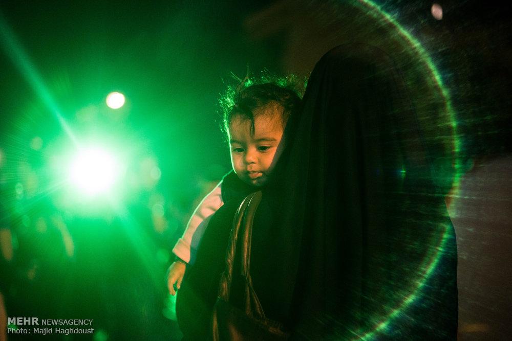 شیرخوارگان حسینی در عزای حسین (ع)/ گالری عکس