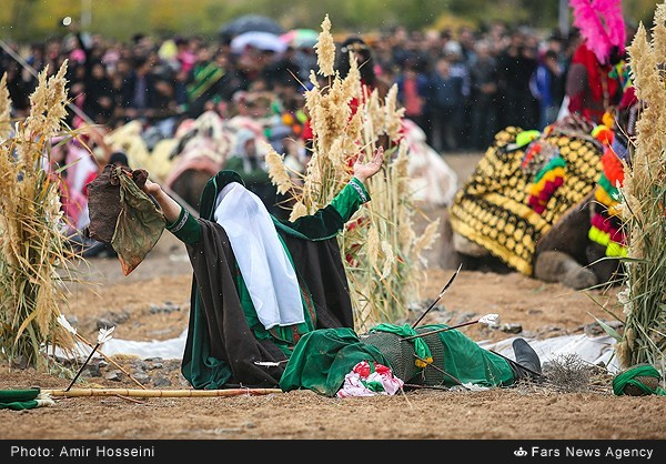 بازسازی واقعه عاشورا در اصفهان/ گزارش تصویری