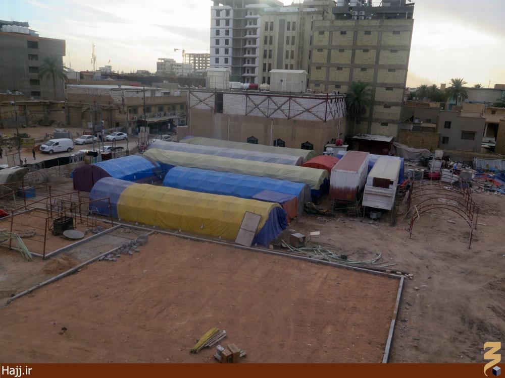 برپایی موکبهای عزای حسینی در کربلا / گزارش تصویری