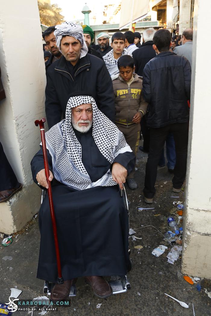 حضور افراد با محدودیتهای جسمانی در پیادهروی اربعین/ گزارش تصویری