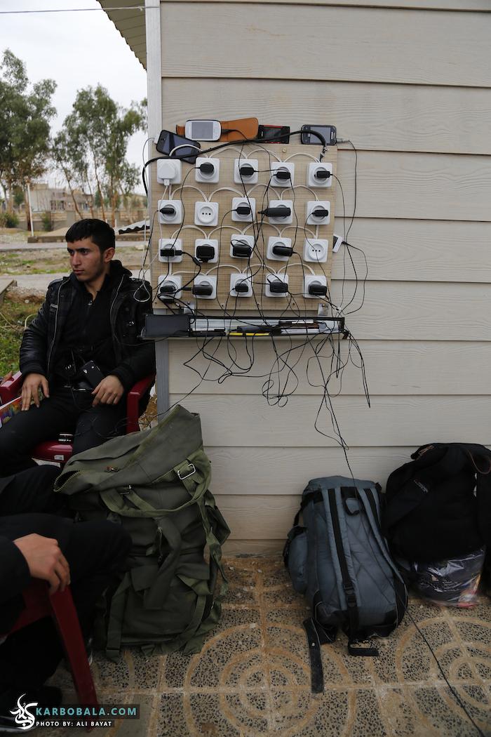 زوار اربعین در مرز مهران از نگاه متفاوت دوربین کربوبلا/ گزارش تصویری