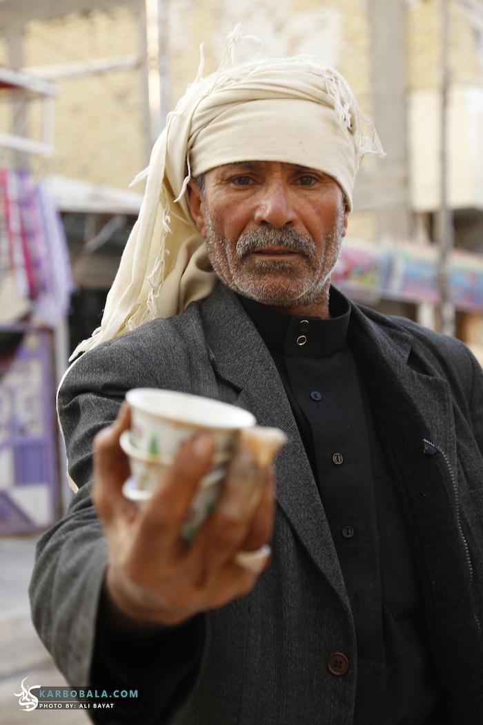 می توانید در راه کربلا قهوه هم سرو کنید/ گزارش تصویری