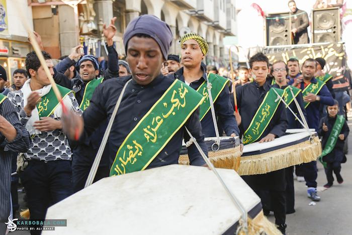 تصاویری از هیئات نیجریهای در اربعین