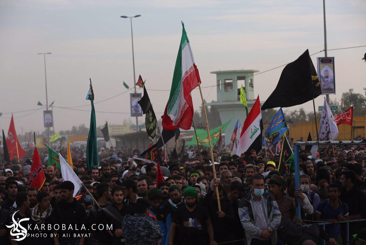 سیطره اول ورودی کربلا در روز اربعین/ گزارش تصویری