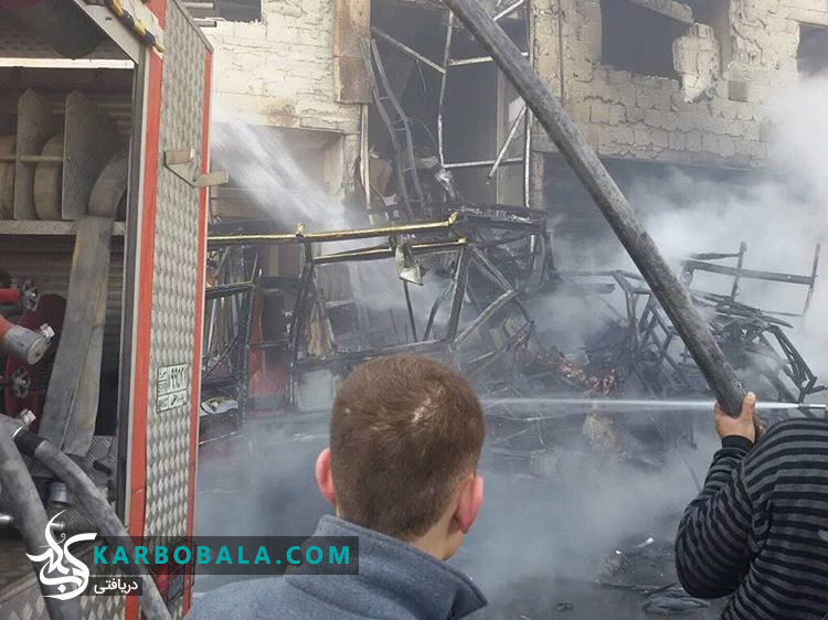 انفجار تروریستی نزدیک حرم حضرت زینب (س) + عکس