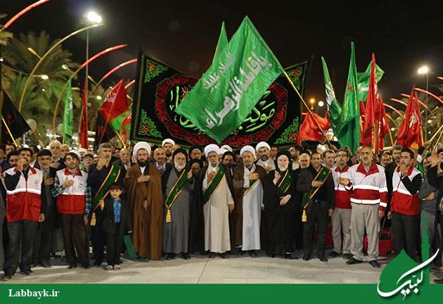 افتخار خادمی سه شب موکب امام رضا (ع) نصیب دانشجویان شد / گزارش تصویری